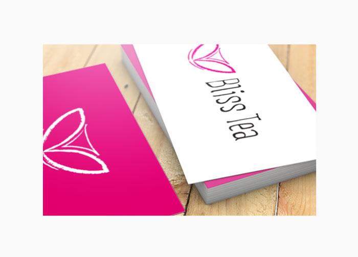 Bliss Tea – Branding and Print Design