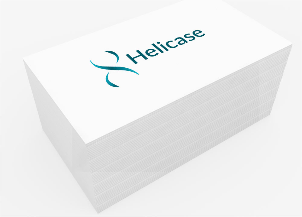 Helicase InfoSite – Web Design and Logo Design